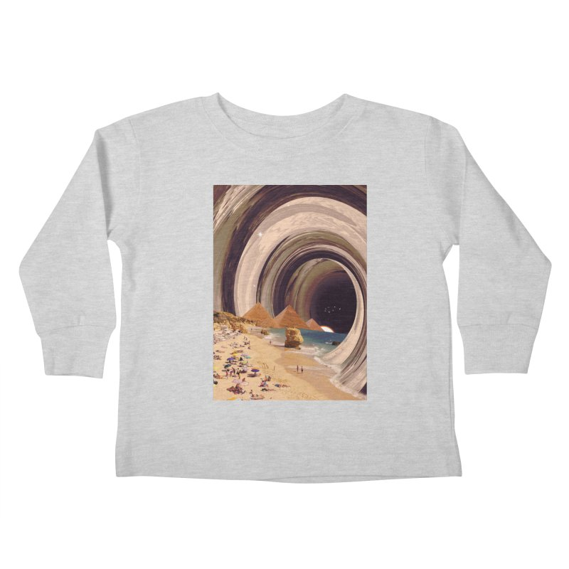 Tunnel Kids Toddler Longsleeve T-Shirt by nicebleed