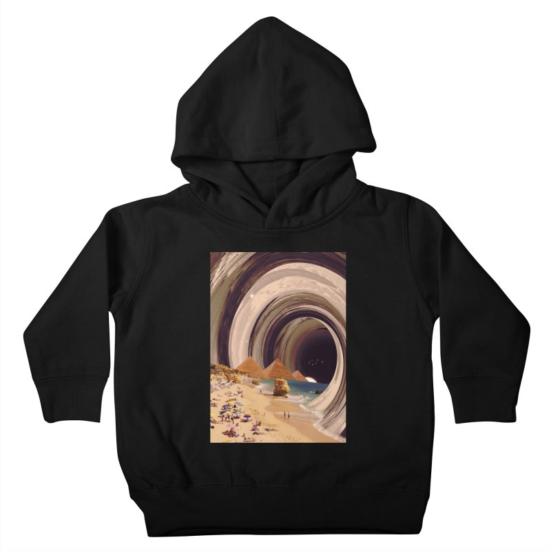 Tunnel Kids Toddler Pullover Hoody by nicebleed