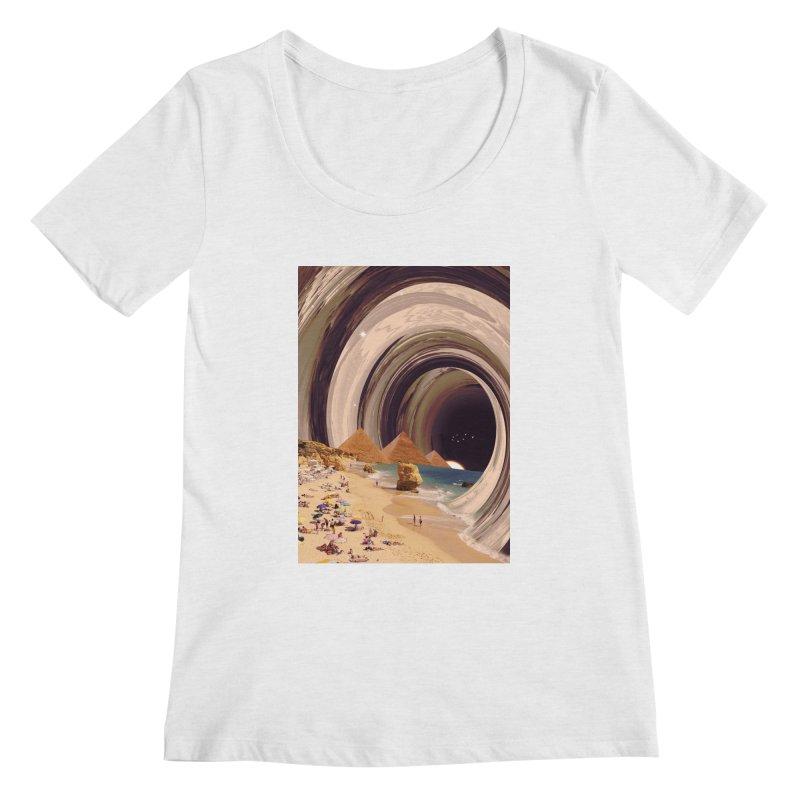 Tunnel Women's Regular Scoop Neck by nicebleed