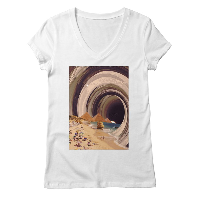 Tunnel Women's Regular V-Neck by nicebleed