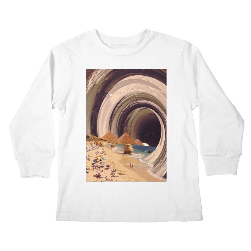 Tunnel Kids Longsleeve T-Shirt by nicebleed