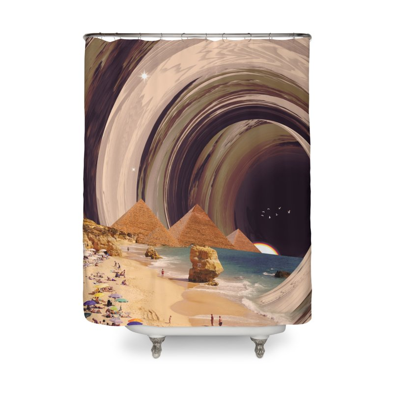 Tunnel Home Shower Curtain by nicebleed