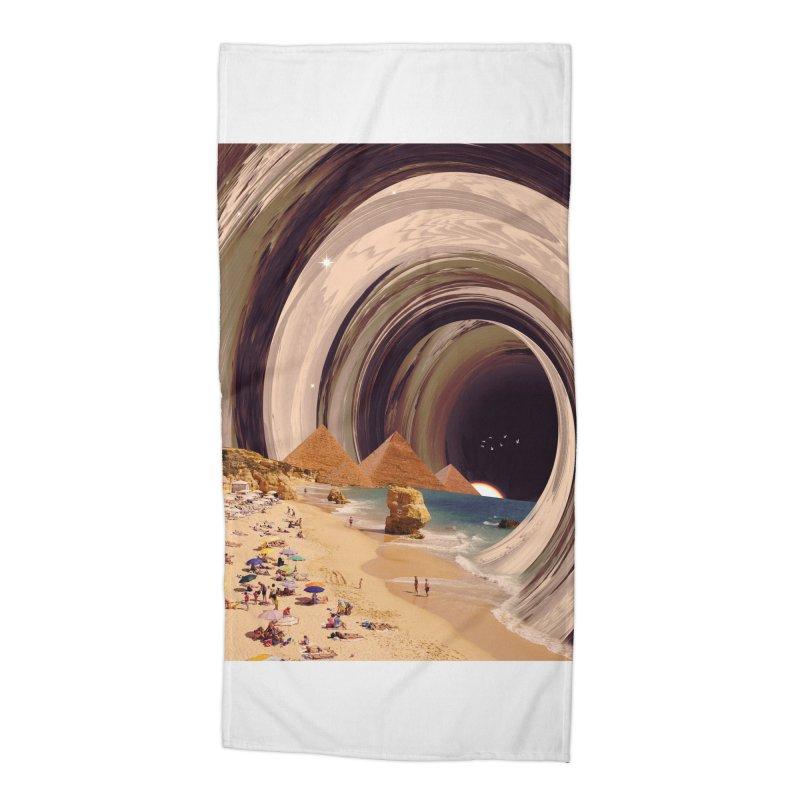 Tunnel Accessories Beach Towel by nicebleed