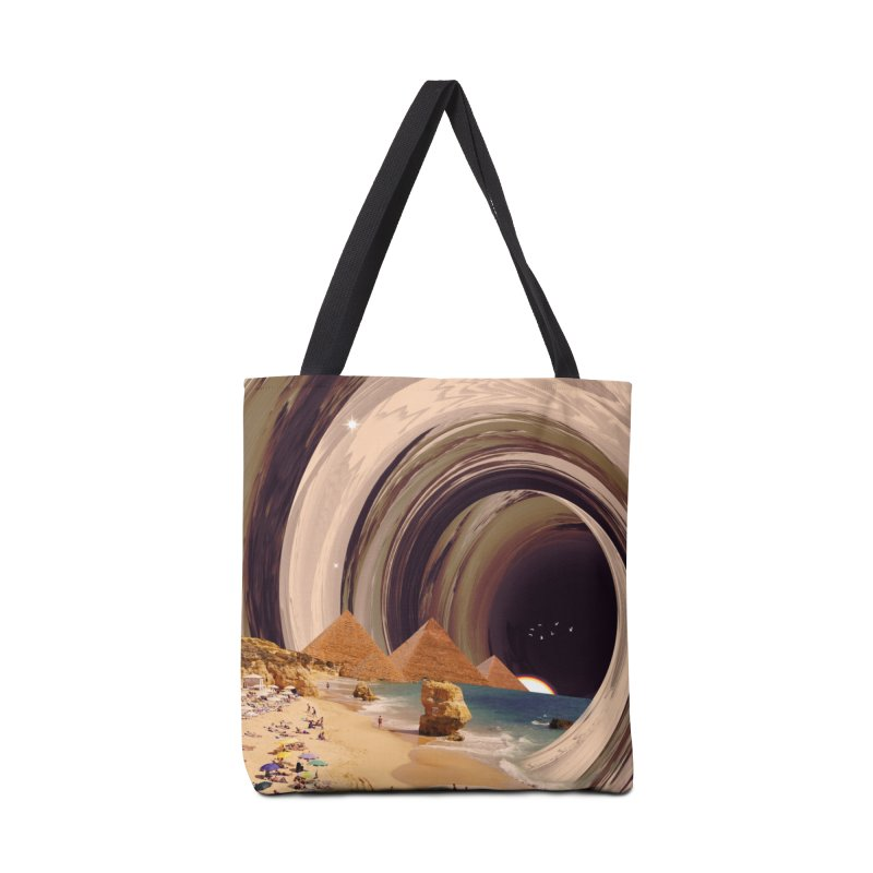 Tunnel Accessories Tote Bag Bag by nicebleed