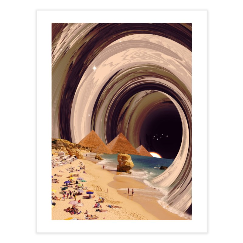Tunnel Home Fine Art Print by nicebleed