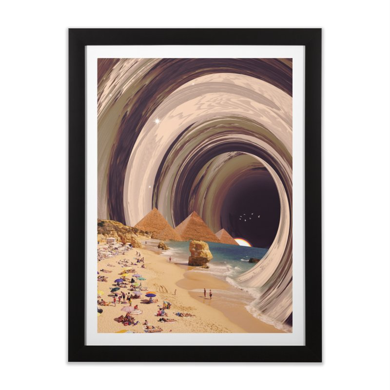 Tunnel Home Framed Fine Art Print by nicebleed