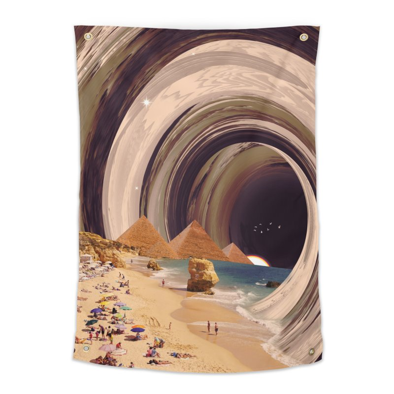 Tunnel Home Tapestry by nicebleed