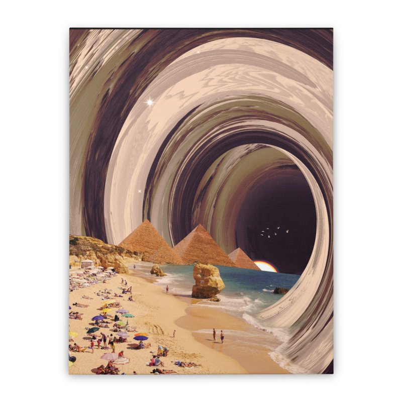 Tunnel Home Stretched Canvas by nicebleed