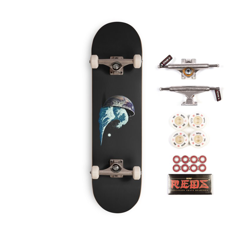 Earth Spill Accessories Complete - Pro Skateboard by nicebleed