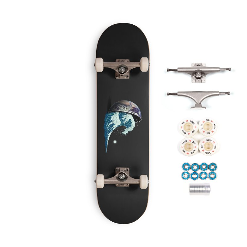 Earth Spill Accessories Complete - Premium Skateboard by nicebleed