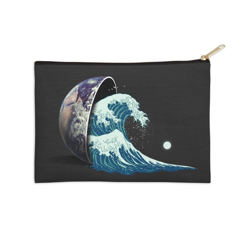 Earth Spill Accessories Zip Pouch by nicebleed