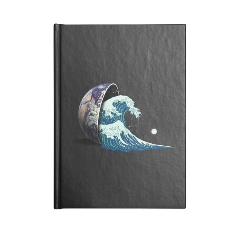 Earth Spill Accessories Blank Journal Notebook by nicebleed