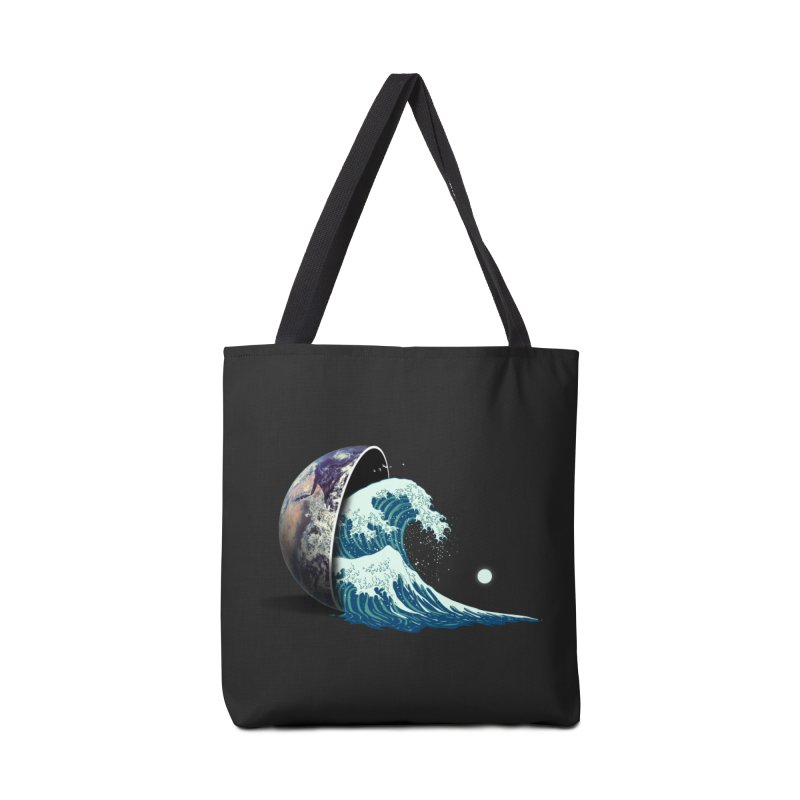 Earth Spill Accessories Tote Bag Bag by nicebleed
