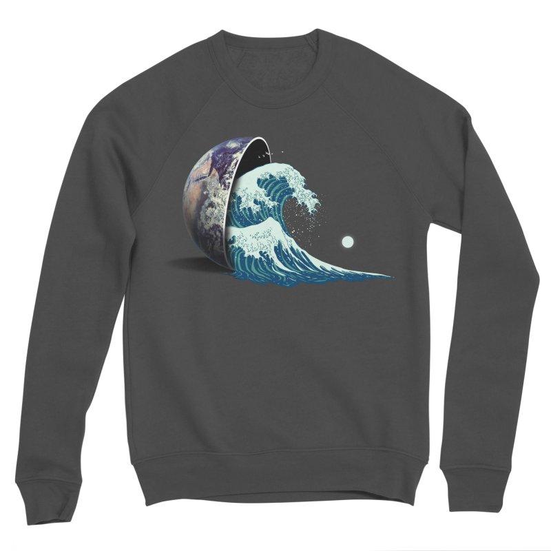 Earth Spill Men's Sponge Fleece Sweatshirt by nicebleed