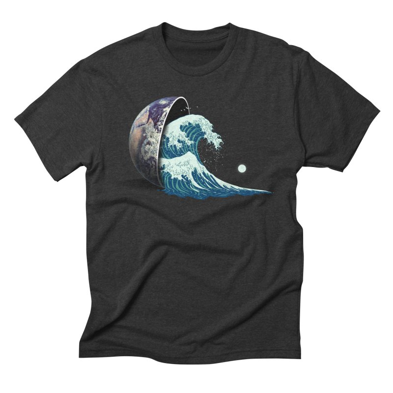 Earth Spill Men's Triblend T-Shirt by nicebleed