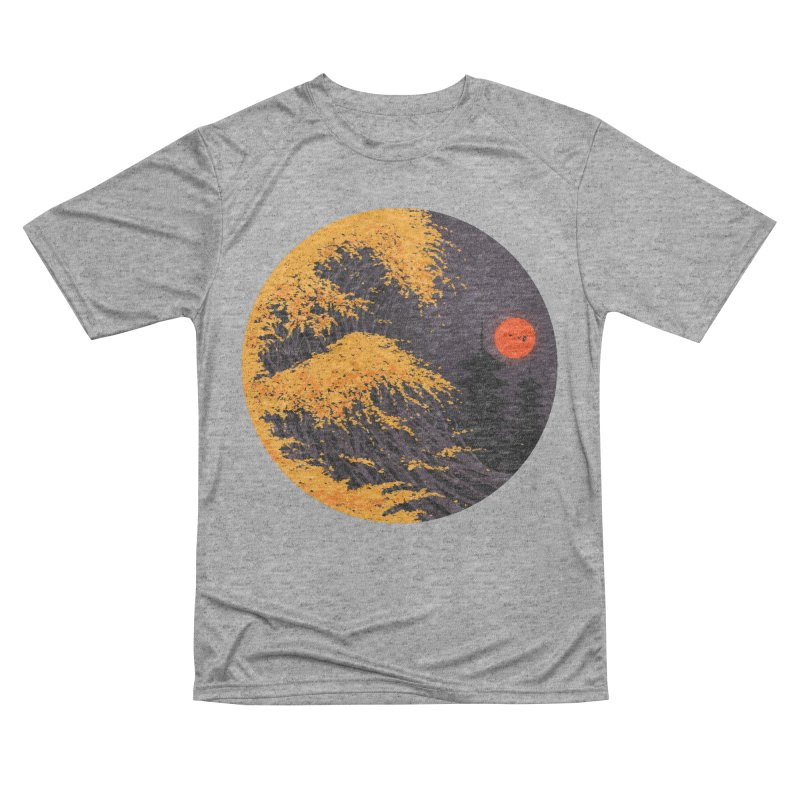 The Great Autumn Wave Women's Performance Unisex T-Shirt by nicebleed
