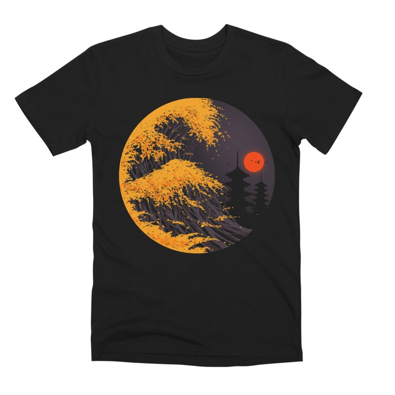 The Great Autumn Wave Men's Premium T-Shirt by nicebleed