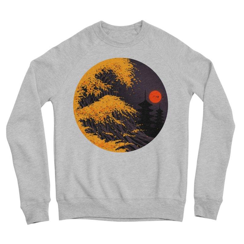The Great Autumn Wave Men's Sponge Fleece Sweatshirt by nicebleed