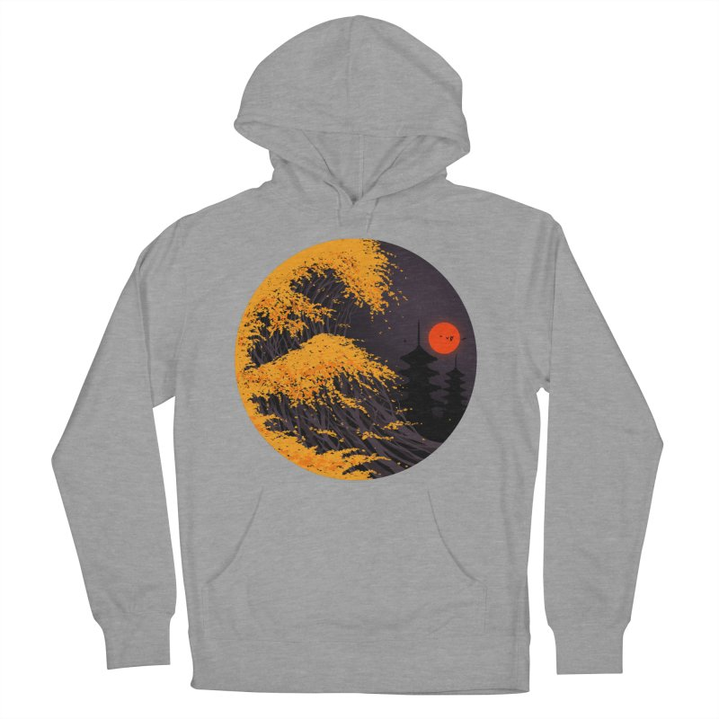 The Great Autumn Wave Women's French Terry Pullover Hoody by nicebleed