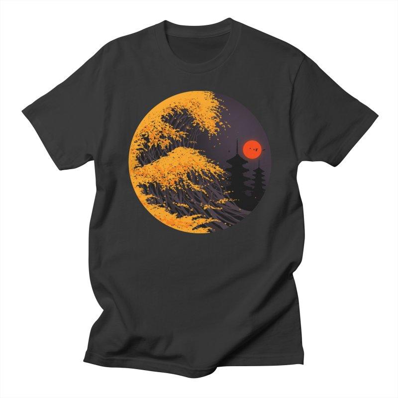 The Great Autumn Wave Women's Regular Unisex T-Shirt by nicebleed