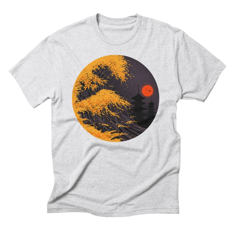 The Great Autumn Wave Men's Triblend T-Shirt by nicebleed