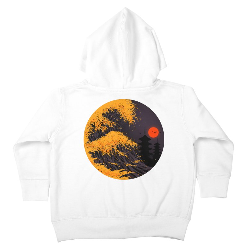 The Great Autumn Wave Kids Toddler Zip-Up Hoody by nicebleed
