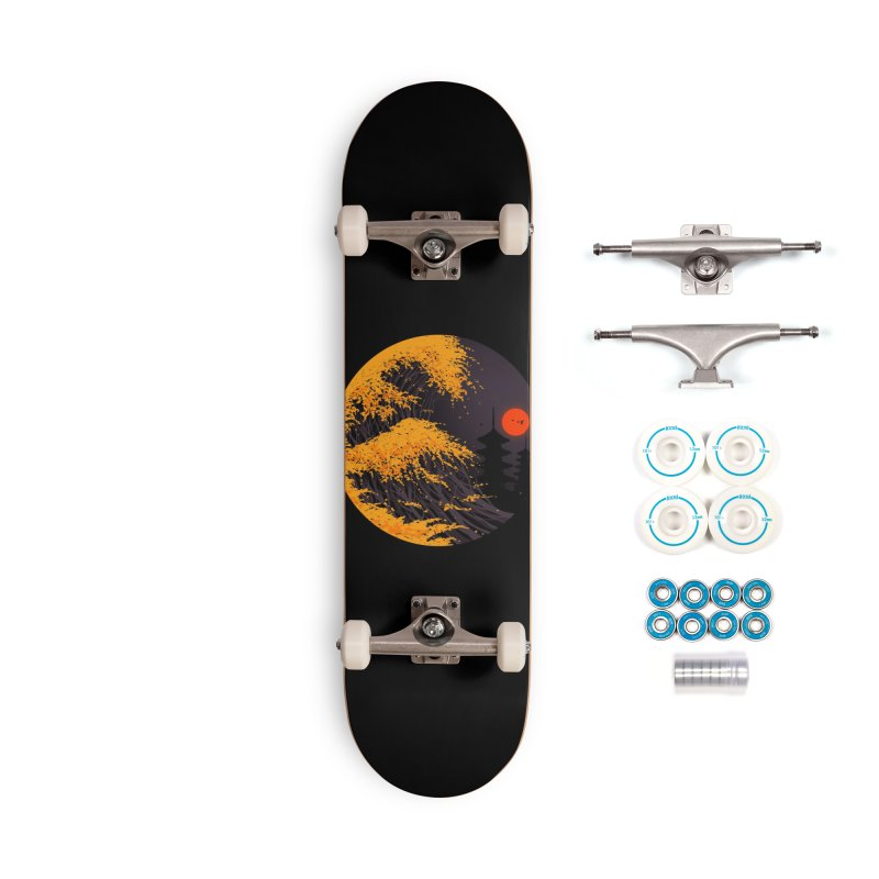 The Great Autumn Wave Accessories Complete - Basic Skateboard by nicebleed