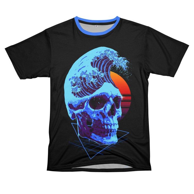 Wavy Women's Unisex T-Shirt Cut & Sew by nicebleed