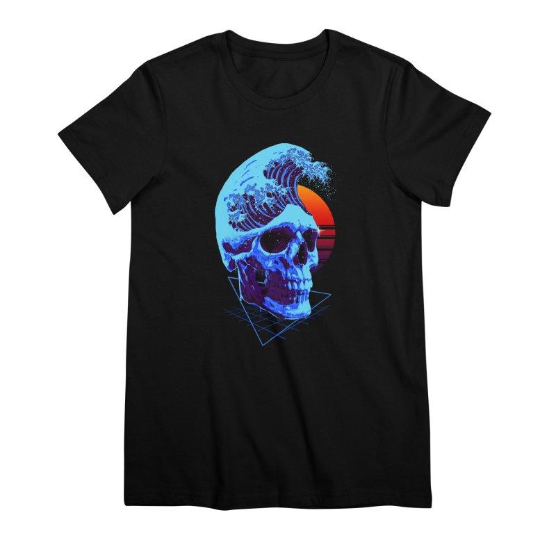 Wavy Women's Premium T-Shirt by nicebleed