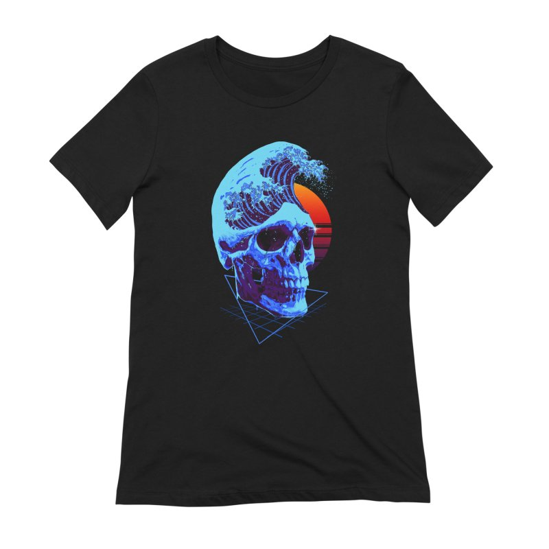 Wavy Women's Extra Soft T-Shirt by nicebleed