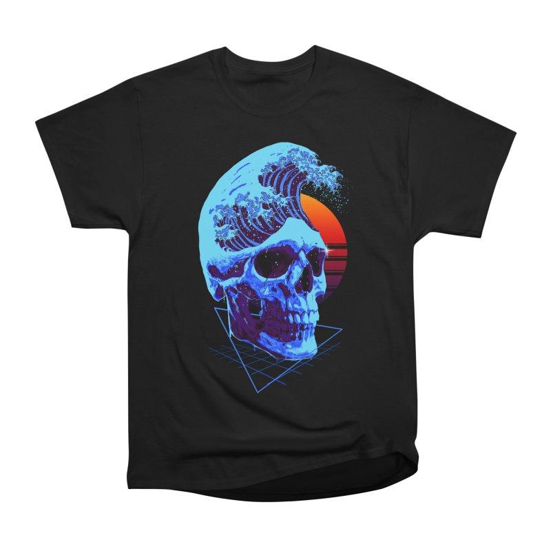Wavy Men's Heavyweight T-Shirt by nicebleed