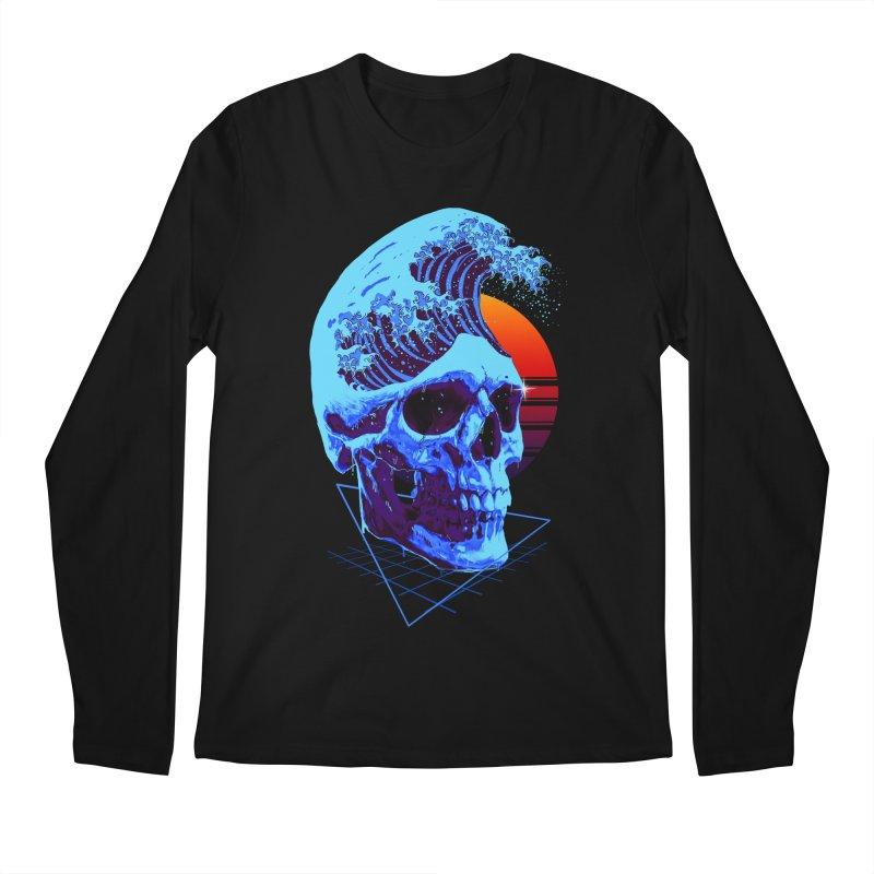 Wavy Men's Regular Longsleeve T-Shirt by nicebleed