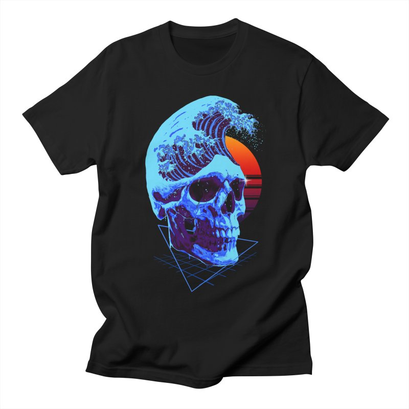 Wavy Women's Regular Unisex T-Shirt by nicebleed