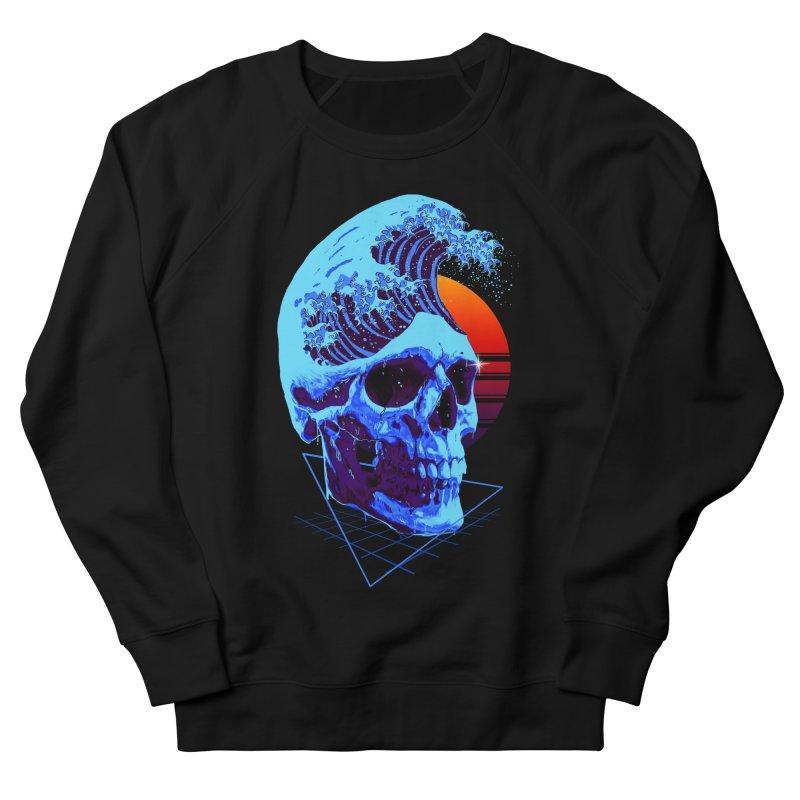 Wavy Men's French Terry Sweatshirt by nicebleed