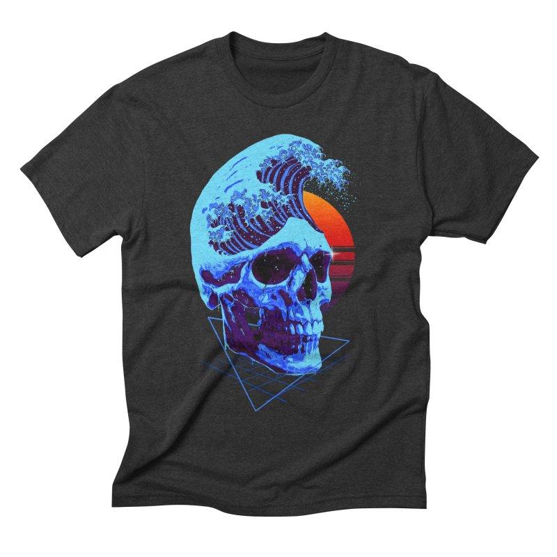 Wavy Men's Triblend T-Shirt by nicebleed