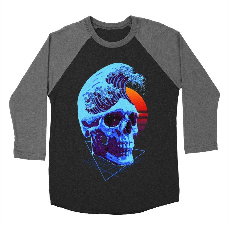 Wavy Men's Baseball Triblend Longsleeve T-Shirt by nicebleed