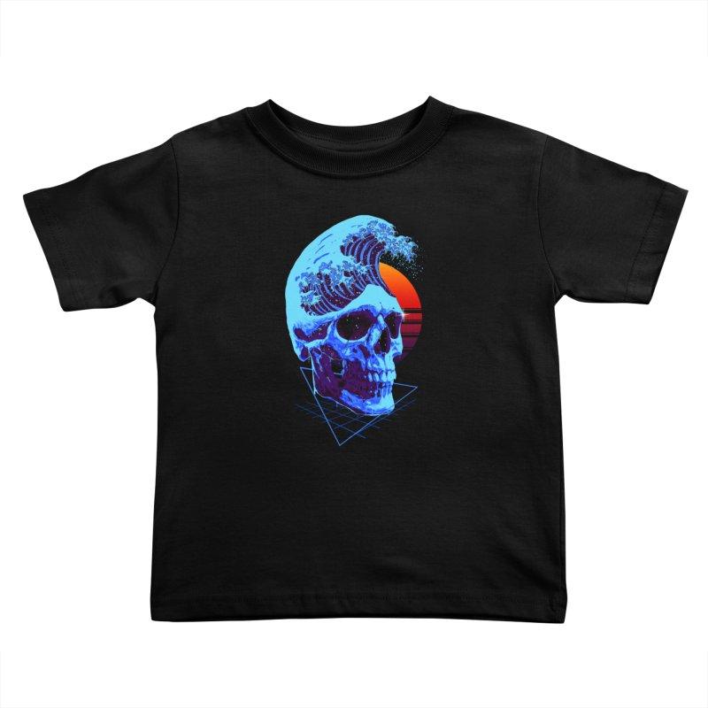 Wavy Kids Toddler T-Shirt by nicebleed