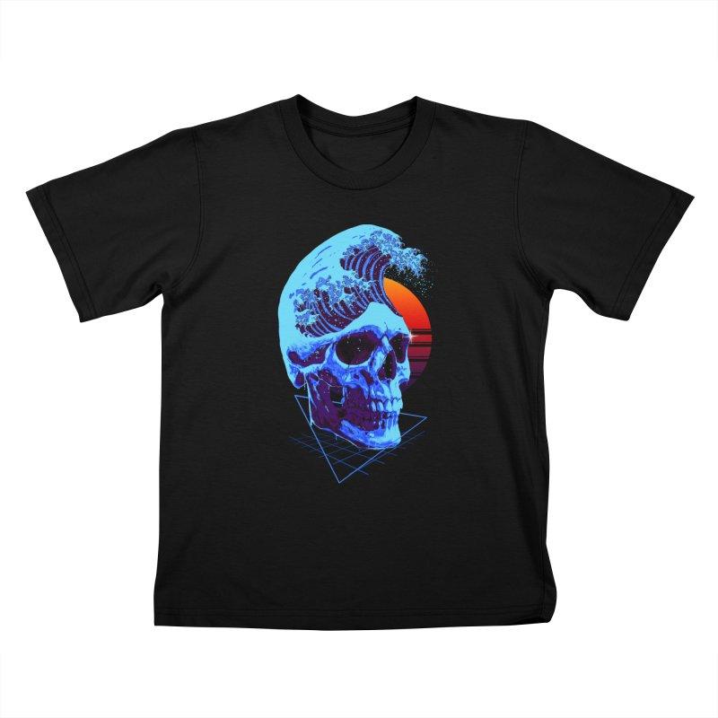 Wavy Kids T-Shirt by nicebleed