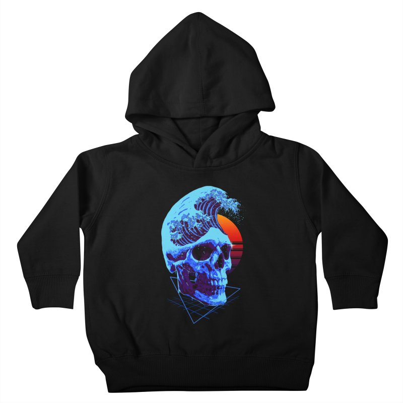 Wavy Kids Toddler Pullover Hoody by nicebleed
