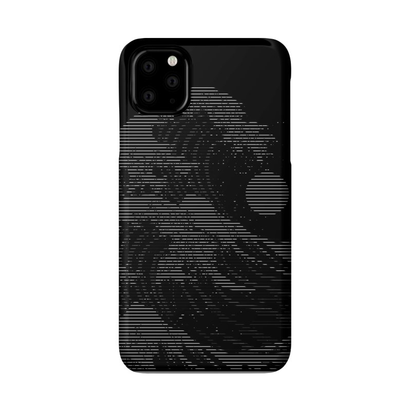 The Great Wave in Stripes Accessories Phone Case by nicebleed