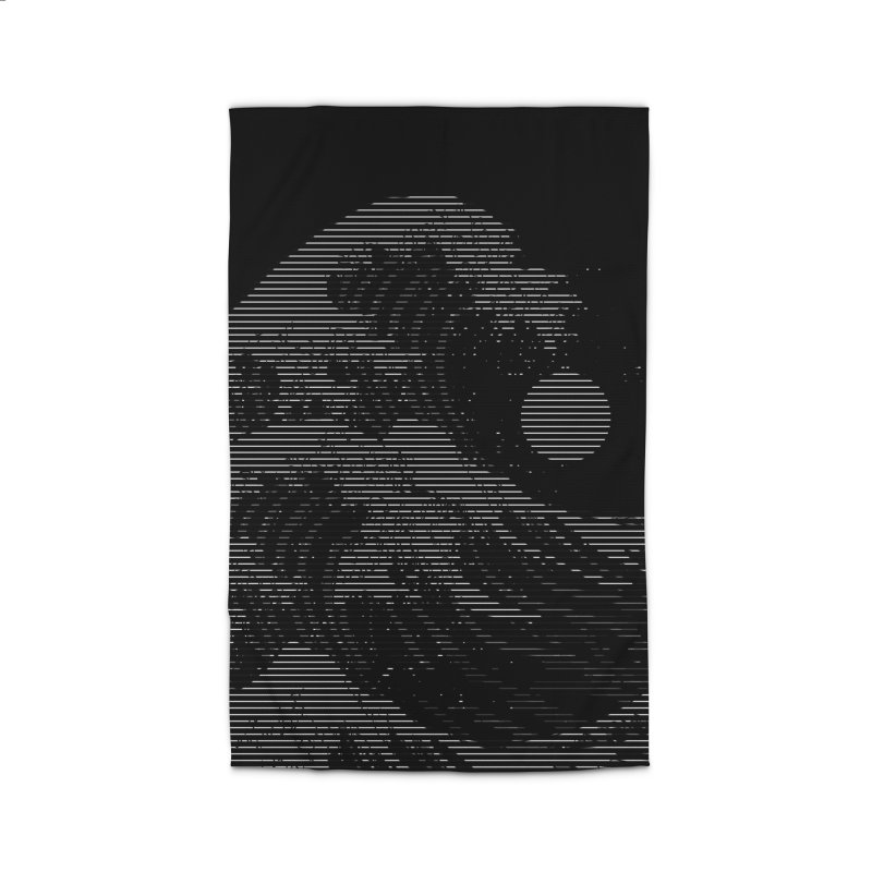 The Great Wave in Stripes Home Rug by nicebleed