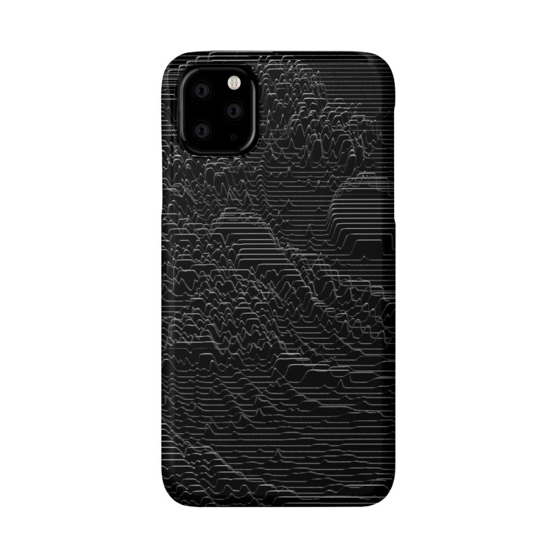 Unknown Pleasures: Great Wave Accessories Phone Case by nicebleed