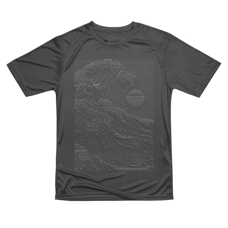 Unknown Pleasures: Great Wave Men's Performance T-Shirt by nicebleed