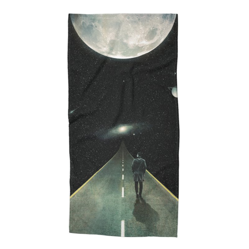 Road To Unknown Accessories Beach Towel by nicebleed