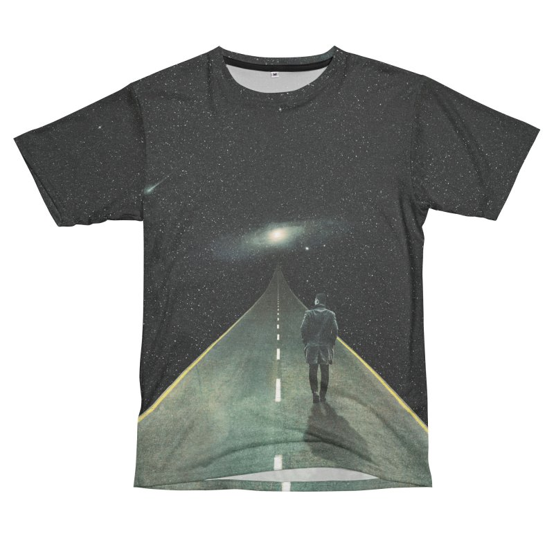 Road To Unknown Women's Unisex French Terry T-Shirt Cut & Sew by nicebleed