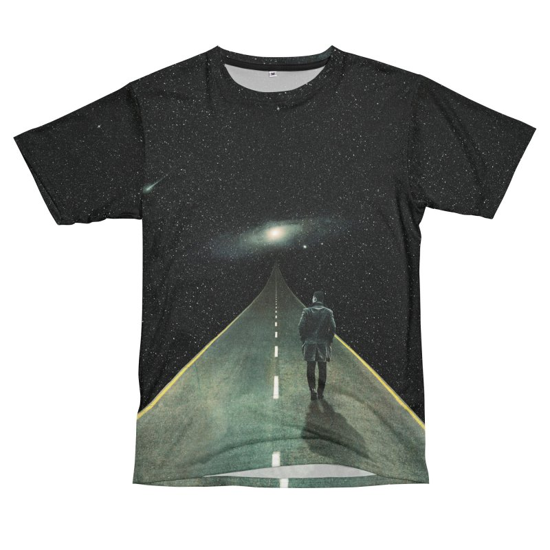 Road To Unknown Women's Unisex T-Shirt Cut & Sew by nicebleed