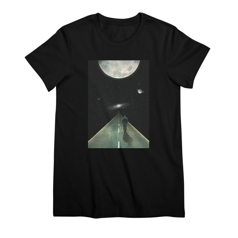 Road To Unknown Women's Premium T-Shirt by nicebleed