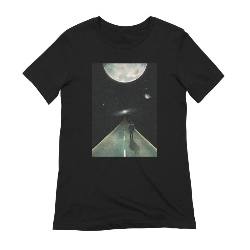 Road To Unknown Women's Extra Soft T-Shirt by nicebleed