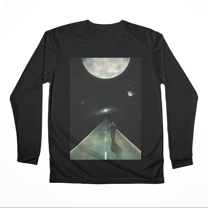 Road To Unknown Men's Performance Longsleeve T-Shirt by nicebleed