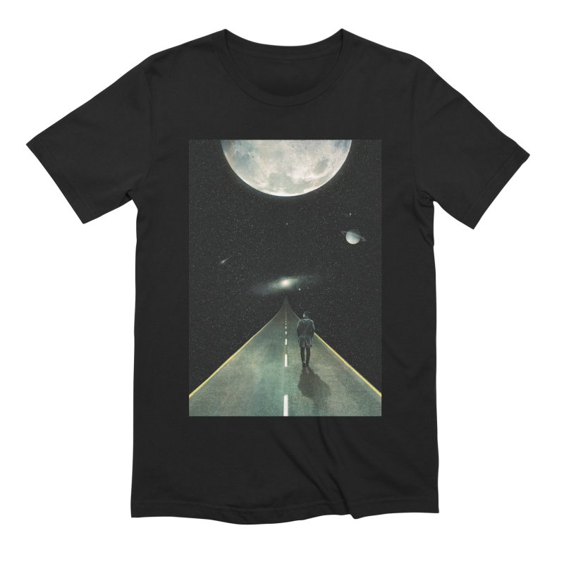 Road To Unknown Men's Extra Soft T-Shirt by nicebleed